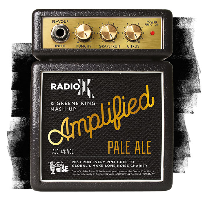 Amplified Pale Ale a Radio X and Greene King mash up